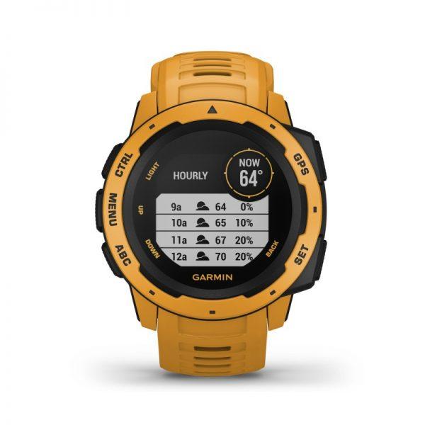 Reloj Garmin Instinct 010-02064-03 Amarillo ocre