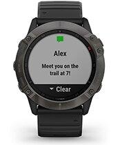 fēnix 6X Pro Solar con la pantalla de notificaciones inteligentes