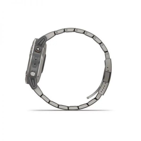 reloj Garmin Fenix 6 Zafiro Titanio correa titanio