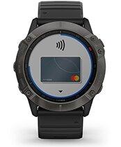 fēnix 6X Pro Solar con la pantalla de Garmin Pay