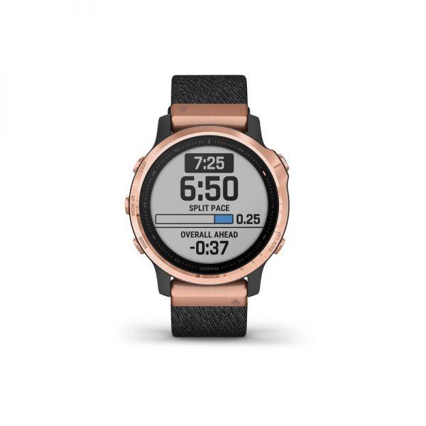 reloj Garmin Fenix 6S Zafiro Rose Gold nylon